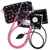 Prestige Medical A2-prb Sprague / Sphygmomanometer Kit with Carrying Case Pink Ribbon Black:Amazon:Health & Personal Care