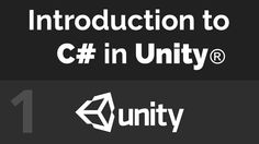 Unity C# Beginner Tutorial - The User Interface (Part 01)