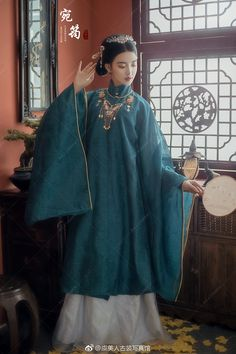 微博 Oriental Dress, Oriental Fashion, Asian Fashion, Traditional Fashion, Traditional Dresses, Chinese Dress Traditional, Dynasty Clothing, Vietnamese Clothing, Chinese Clothing