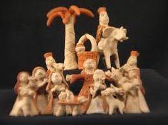 folk art nativity set - Google-Suche