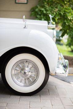 ♔ White Rolls Royce
