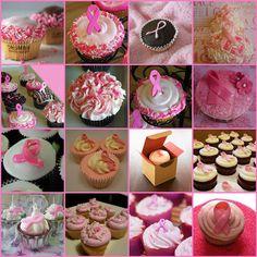 Breast Cancer Awareness Cupcakes