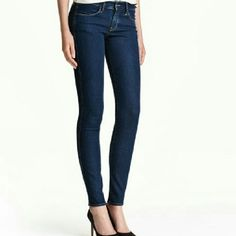 H&M Jeans H&M skinny jeans; Low waist H&M Pants