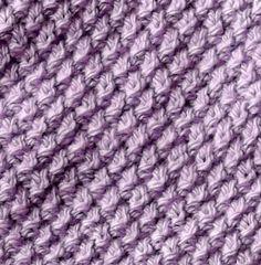 Mavivi tejiendo: Punto trigo