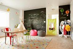 Ideas para habitaciones de juegos