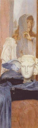 1894 Une Aile bleue, Fernand Khnopff
