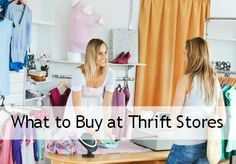 Thrifting In Style: What to Buy at Thrift Stores