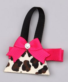 Take a look at this Leopard Purse Clip by Pouty Posh on #zulily today!