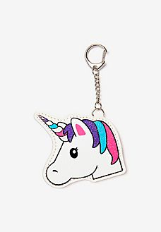 Shop Fun Cute Bag Charms From Justice Transform Any Backpack Or Purse With Our Selection Of Pom Keychains Initial Phone Chargers More