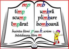 Scrierea corectă a unor cuvinte - mp, mb Education Logo, Education College, Education Quotes, Kids Education, Romanian Language, Motivational Songs, Preschool At Home, Diy Projects For Kids, Education English