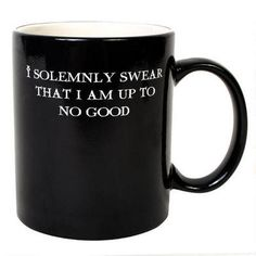 Harry Potter Mug. A fun way to have coffee each morning:)