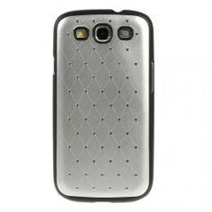 Galaxy S3 hopean väriset luksus kuoret. Samsung Galaxy S3