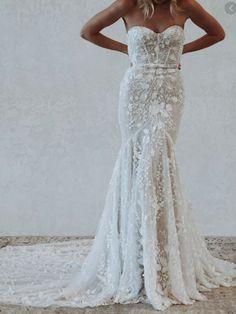 Bodice Wedding Dress, Bridal Wedding Dresses, Dream Wedding Dresses, Boho Wedding, Dress Lace, Mermaid Wedding, Wedding Bride, Dream Dress, Marie