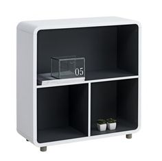 Upgrade your office and home with a new bookcase and room divider. Bookcases available in different materials and colours at JYSK. Plank, Locker Storage, Bookcase, New Homes, Shelves, Cabinet, Bedroom, Furniture, Design