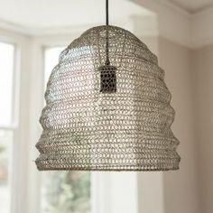 £49.95 Cream Wire Lamp Shade H 36cm x Dia 30cm