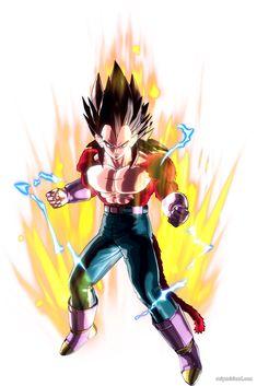 Dragon Ball Xenoverse Super Saiyan 4 Vegeta