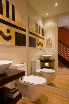Decoración cuarto de baño moderno