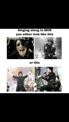 Yeah... True. Now I know what my parents see when I sing along in the car..l