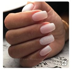 Nail art is a very popular trend these days and every woman you meet seems to have beautiful nails. It used to be that women would just go get a manicure or pedicure to get their nails trimmed and shaped with just a few coats of plain nail polish. Simple Acrylic Nails, Acrylic Nail Art, Wedding Acrylic Nails, Wedding Nails Art, Acrylic Ombre Nails, Bridal Nails, Glitter Wedding Nails, Weding Nails, Ombre Nail Art