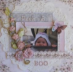 shabby chic scrapbooking layouts | Ideas for Scrapbookers: Define YOUR Scrapbook Style!!