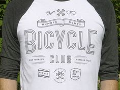 Dribbble - Humble Gents Bicycle Club by Justin W. Siddons