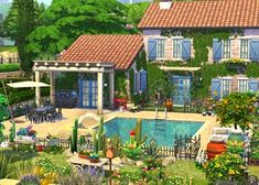 The Sims, Sims 3, Sims 4 Game, Sims Building, Building Design, Building A House, Sims Freeplay Houses, Sims 4 Houses, Sims 4 House Design