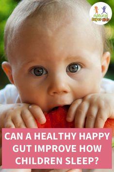 Can A Healthy Happy Gut Improve How Children Sleep? - Sleep Apnoea, Kids Sleep, Asthma Remedies, Sleep Issues, Irritable Bowel Syndrome, Alternative Treatments, Bedtime Routine, Gut Health, How To Fall Asleep