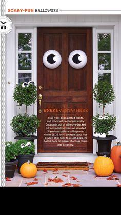 WD Halloween article pg 3 & 8 Fun Halloween Door Ideas - Halloween Door Decorations | Doors ...