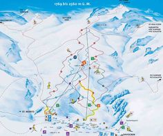 Piste Map for EngelbergTitlis ski maps Pinterest Engelberg