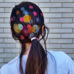 Hair-Stenciling, la nueva tendencia para colorear tu cabello