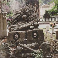 Cimitero del Verano Rome cemetery    Read my blogpost here: http://www.blocal-travel.com/another-rome-ostiense/cemeteries-in-rome/
