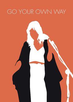 Stevie Nicks Wall Art - Digital Art - MY Fleetwood Mac Minimal Music poster by Chungkong Art Fleetwood Mac Quotes, Fleetwood Mac Shirt, Mick Fleetwood, Stevie Nicks Quotes, Minimalist Music, Minimalist Drawing, Techno, Go Your Own Way, Mac Wallpaper