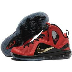 huge selection of 0aa09 98025 Cheap Nike LeBron 9 P.Elite Gold Red Black, cheap Nike LeBron 9 P. Elite, If  you want to look Cheap Nike LeBron 9 P.Elite Gold Red Black, you can view  the ...