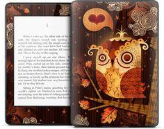 【お取り寄せ】Kindle Paperwhite ケース・カバーよりデザイン豊富!【GELASKINS】Kindle Paperwhite/キンドル ペーパーホワイト  スキンシール【The Enamored Owl】【YDKG-td】高品質3M製シール使用で剥がしてもベタつかない!【RCP1209mara】【楽天市場】