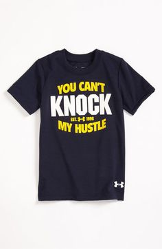 Under Armour 'You Can't Knock My Hustle' T-Shirt (Infant) available at Nordstrom