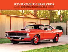1970 Plymouth Hemi Cuda Unrestored with 81 Original Miles