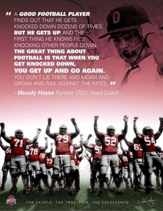 Ohio State Coach Woody Hayes - history, famous quotes, all time record, photo gallery Ohio State Football, Ohio State Buckeyes, Ohio Stadium, The Buckeye State, Buckeyes Football, Ohio State University, Longhorns Football, Woody Hayes, Best Football Players