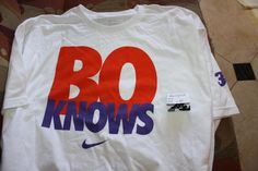 "The Nike ""Bo Knows"" campaign with Bo Jackson."