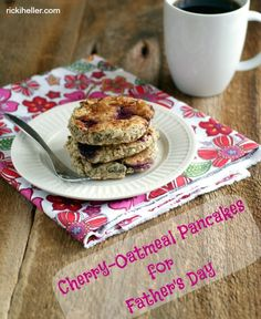 Love pancakes? Explore new taste buds with these Gluten-Free Cherry-Oat Pancakes.