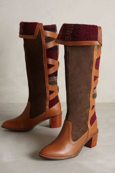 NWOB Anthropologie Schuler & Sons Wheat Ridge Boots, Retailed for $298 #Anthropologie #FashionKneeHigh