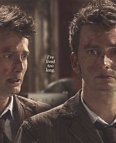 Wilfred: No really. Just leave me. I'm an old man, Doctor. I've had my time.... 10: Well exactly! Look at you. Not remotely important! But me? I could do so much more! So much more! But this is what I get. My reward. Well it's not fair!...Oh...I've lived too long.... Wilfred: No. No no please don't. No no! Please don't! Please!.... 10: Wilfred. It's my honor.