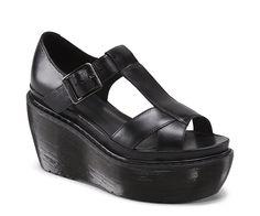 "Selling this ""Dr. Martens Adaya sandal in Black sz in my Poshmark closet! My username is: elphant. Ankle Strap Sandals, Black Sandals, Leather Sandals, Shoes Sandals, Dr. Martens, Sock Shoes, Shoe Boots, Dr Martens Store, Dr Martens Black"
