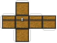 Image detail for -chest - Minecraft Papercraft Mania