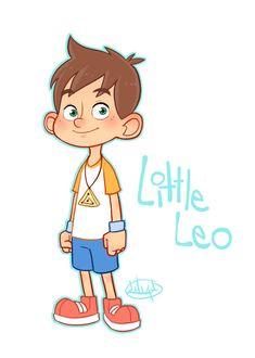 Little Leo color by LuigiL on deviantART