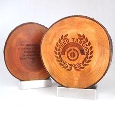 Trofeos de madera