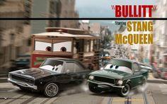 bullitt 12 Famous Cars Gone Pixar