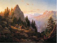 The Athenaeum - Sugar Loaf Peak, El Dorado County (Thomas Hill - )