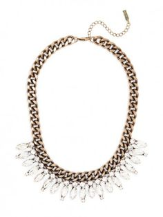 Crystal Ray Collar Necklace | BaubleBar