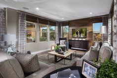 Cortesa in @ranchomv by Shea Homes So Cal Plan 1: Family Room