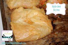 Phyllo Beef Pot Pies Recipe